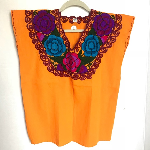 Cielito Lindo Tops Authentic Mexican Traditional Embroidered